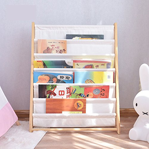 Amazon.com: fessyc Kids Shelf Children Bookcase Magazine Rack .