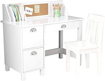 Amazon.com: VivRae Kids Desk with Chair and Storage Set - Activity .