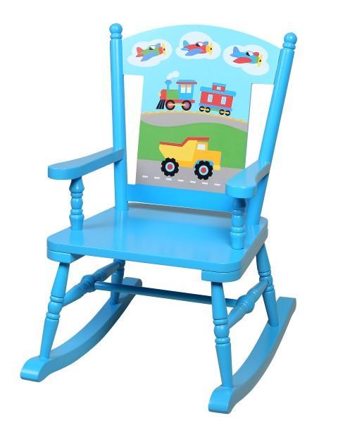 Child Rocking Chairs-Transportation Themed Kids rocker | RonJuneSh