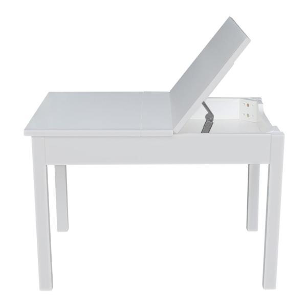 International Concepts White Kids Storage Table JT08-2532L - The .