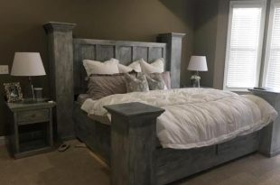 Solid wood king size bed frame Built to last a lifetime. | Et