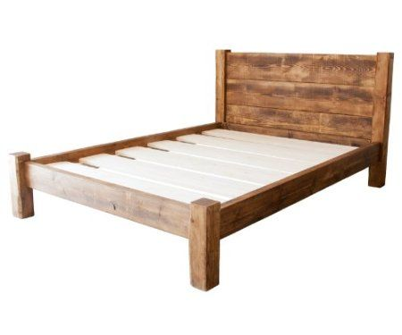 Funky Chunky Furniture Wood Wooden Bed Frame Single Double King .