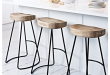 Kitchen Stools & Chairs, Wooden & Rattan Kitchen Bar Stools with .