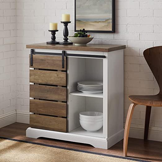 Amazon.com: Walker Edison Furniture Company Modern Farmhouse .