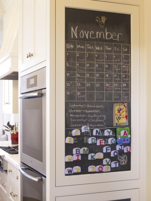 Kitchen Chalkboard - Traditional - kitchen - Gast Architec