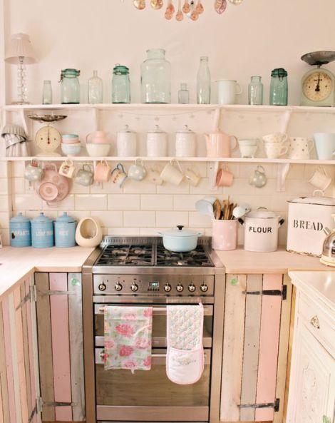 Retro Kitchen Decorating Ideas - Fun Retro Kitchen Ideas | Shabby .