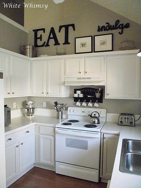 A House Tour | Kitchen cabinets decor, Kitchen design, Decorating .