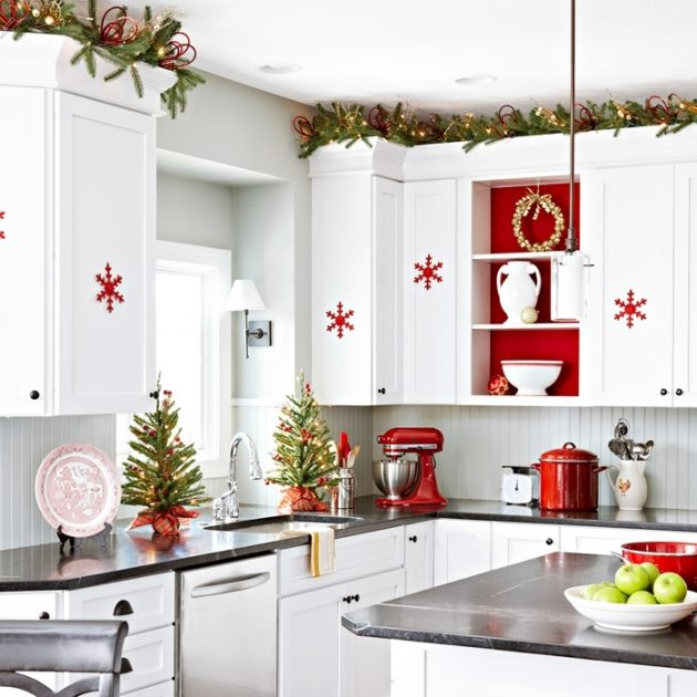 21 Insanely Genius Ideas To Decorate The Kitchen In Christmas .