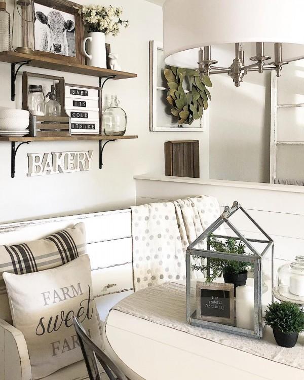 100 Stunning Farmhouse Kitchen Decor Ideas - the Ultimate Gui
