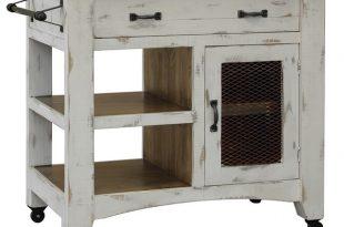 Anton Kitchen Island Cart - Farmhouse - Kitchen Islands And .
