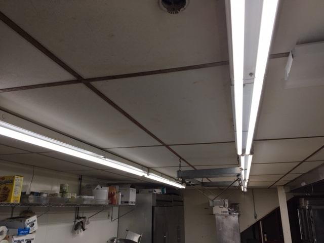 Commercial Kitchen Makes Full Transition to LED Lighting   ELEDLIGH