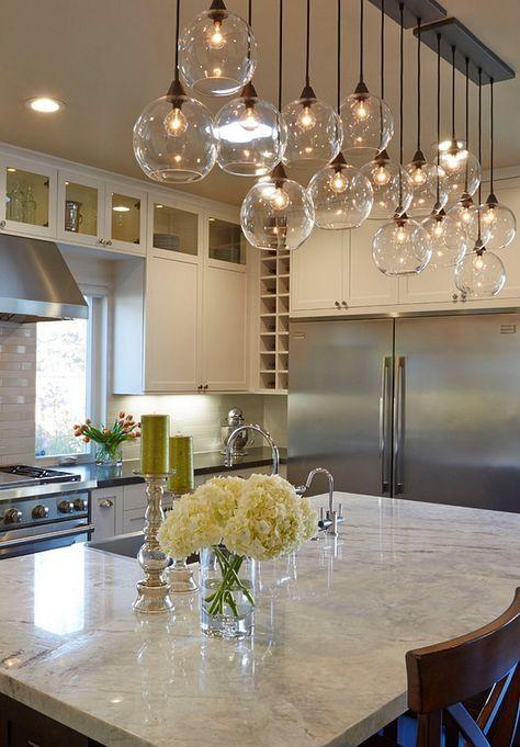 19 Home Lighting Ideas   Modern kitchen lighting, Home decor .