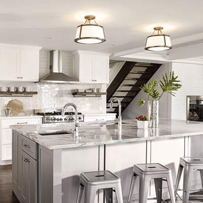 Kitchen Lighting - Ceiling, Wall & Undercabinet Lights | Lume
