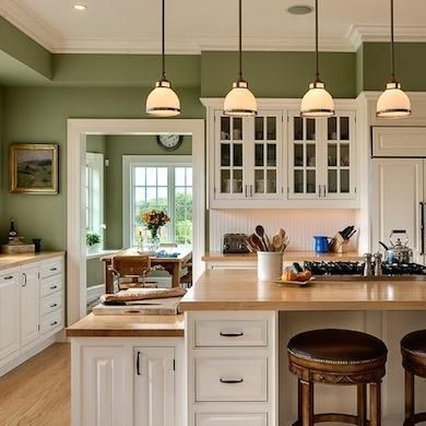 Creative Diy Projects Ideas 2   Green kitchen walls, Paint for .