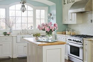 Popular Kitchen Paint Colors | Kitchen sets, Home kitchens, Shabby .