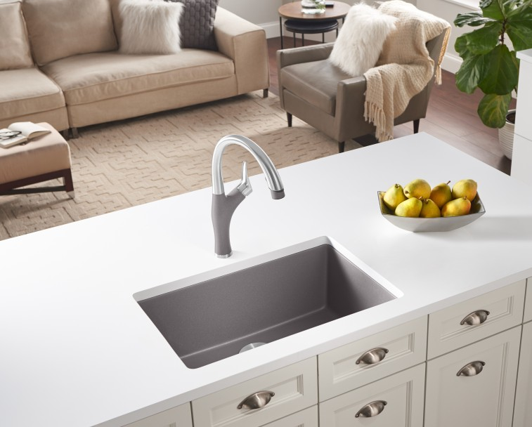 BLANCO PRECIS Small Single Bowl Kitchen Sinks | Blan