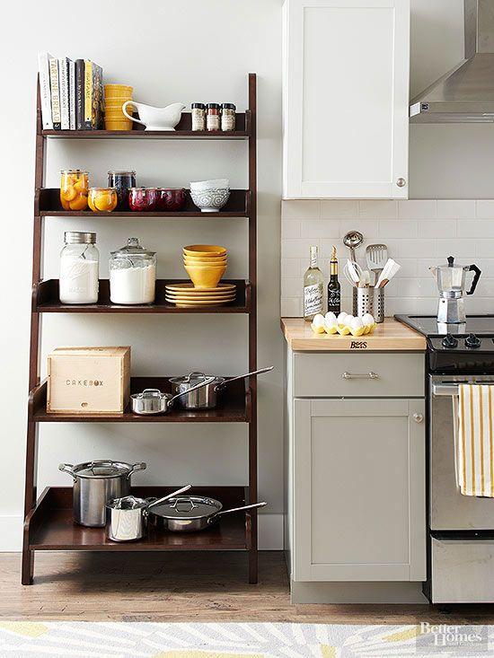 Affordable Kitchen Storage Ideas | Diy kitchen storage, Kitchen .
