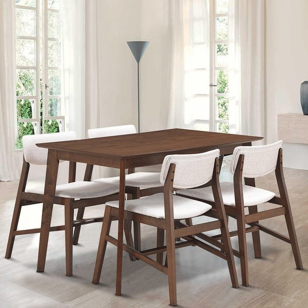 Shop Gymax 5 PCS Mid Century Modern Dining Table Set Kitchen Table .
