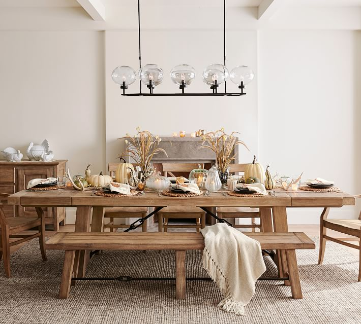 15 Farmhouse Kitchen Tables to Make Your House a Home - City Girl .