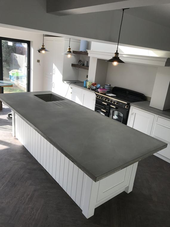 Concrete kitchen worktops | Et