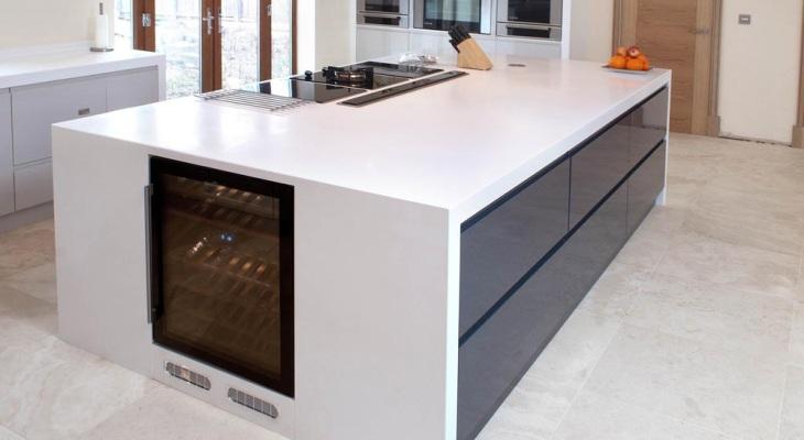 Valentino Kitchens - Kitchen Worktops | Corian Workto