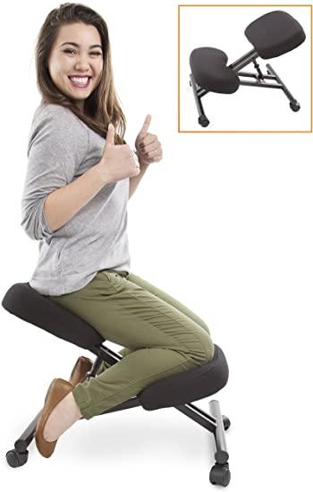 Amazon.com: ProErgo Ergonomic Kneeling Chair -Adjustable Height .