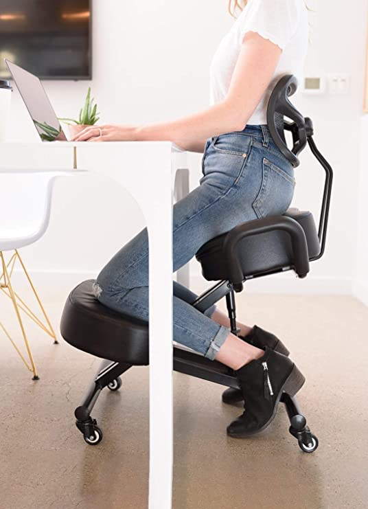 Amazon.com: Sleekform Ergonomic Kneeling Chair | Posture .
