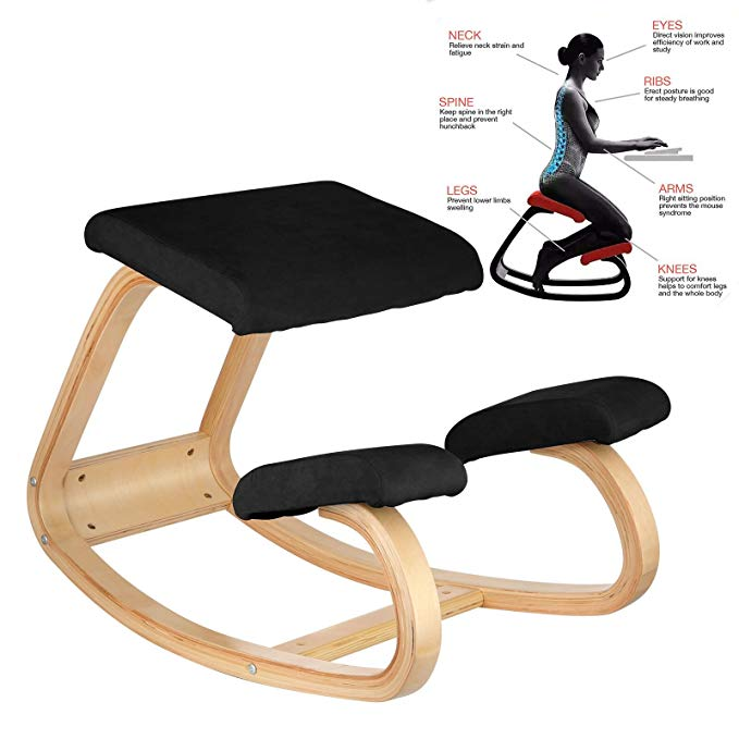 Vevor Ergonomic Kneeling Chair Heavy Duty Kneeling Stool Office .