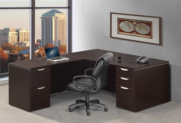 Ndi Office Furniture Classic Series L-Shaped Desk - Pl29 | L .