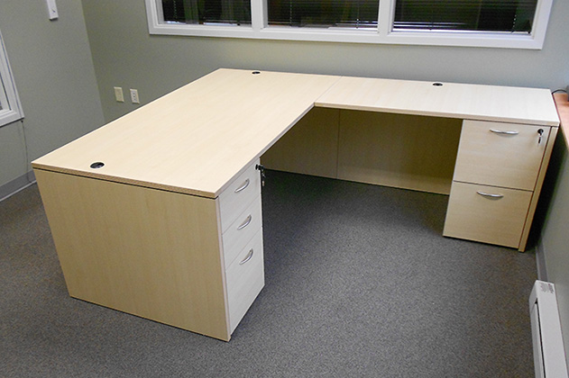 L Shaped Office Desk - New & Used Desk - The Office Manager, In