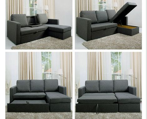 $599 for a Multi-Functional L-Shaped Sofa Bed | L shaped sofa bed .