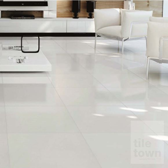 Alaska White Porcelain Floor Tile