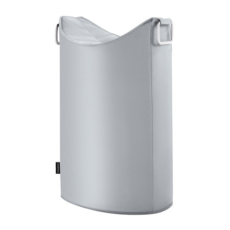 Buy Blomus Frisco Laundry Bin - Silver Gray | Ama