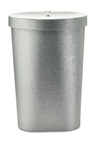 Buy Silver Glitter Laundry Bin from the Next UK online shop .