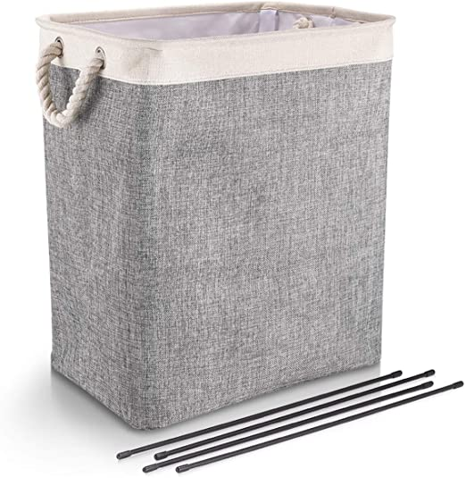 Amazon.com: DYD Laundry Basket with Handles Linen Hampers for .