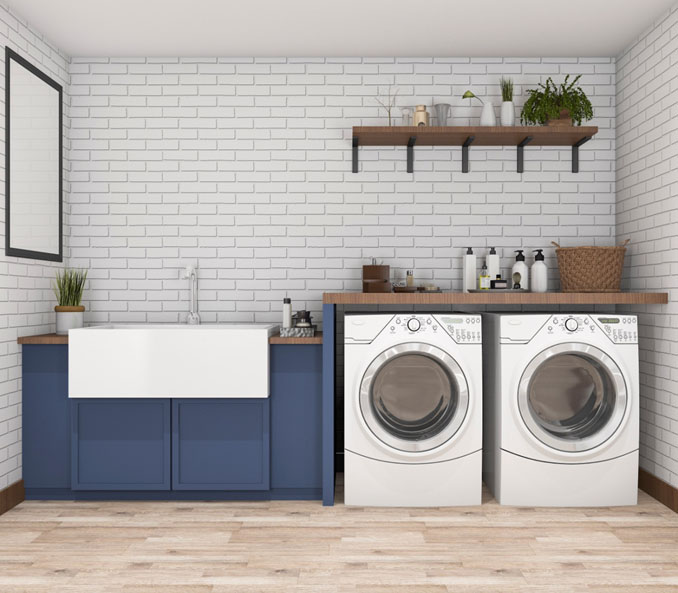 Laundry Rooms Done Right - Coles Fine Floori