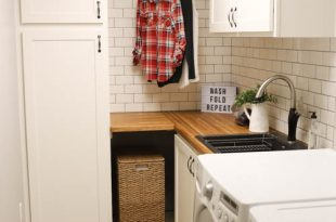 Modern Farmhouse Laundry Room Remodel - Addicted 2 D