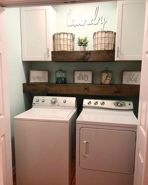 30 Small Laundry Room Decoration Ideas For You - Page 25 of 30 .