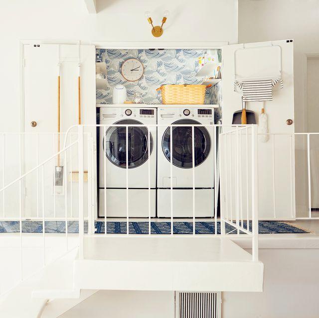 25 Small Laundry Room Ideas - Small Laundry Room Storage Ti
