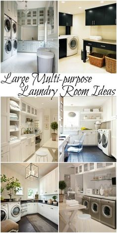 532 Best Laundry Rooms images in 2020 | Laundry room, Laundry room .
