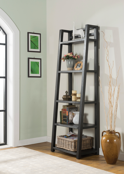 Leaning Bookcase | Cardi's Furniture & Mattress