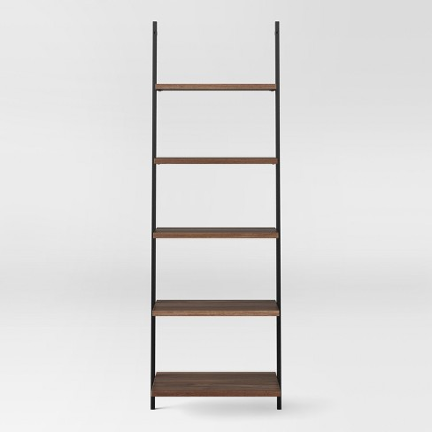 "Loring 72"" 5 Shelf Leaning Bookcase - Project 62™ : Targ"