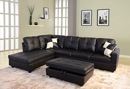 Amazon.com: Lifestyle Sectional Sofa Set: Kitchen & Dini