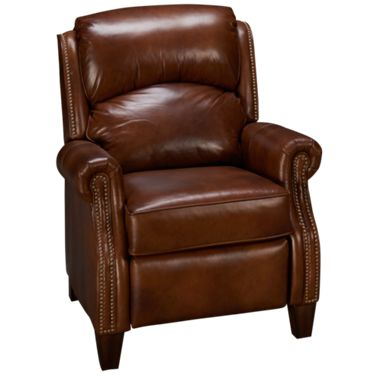 Flexsteel-Whistler-Flexsteel Whistler Leather Recliner - Jordan's .