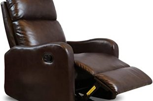 Genuine Leather Recliner: Amazon.c