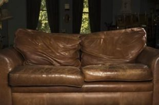 How to Clean and Restore Leather Furniture | Faux leather couch .