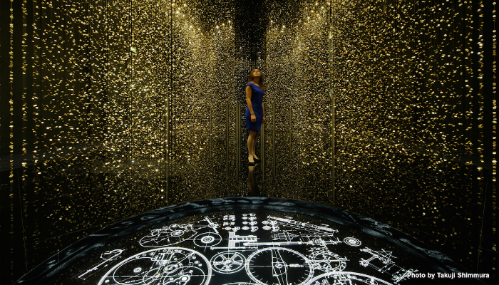 """Light is Time"""" creates a unique experience of light design 