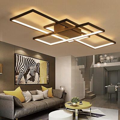 Modern style acrylic LED ceiling light square living room lighting .