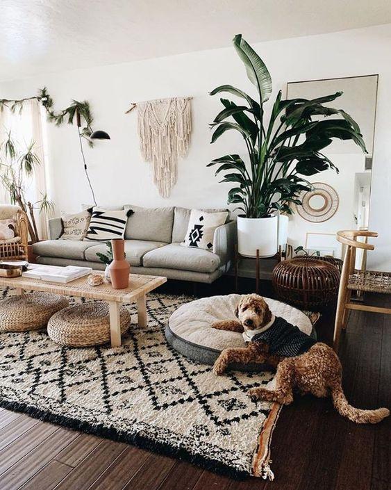 25 Boho Living Room Decor Ideas That Rock - Shelterne