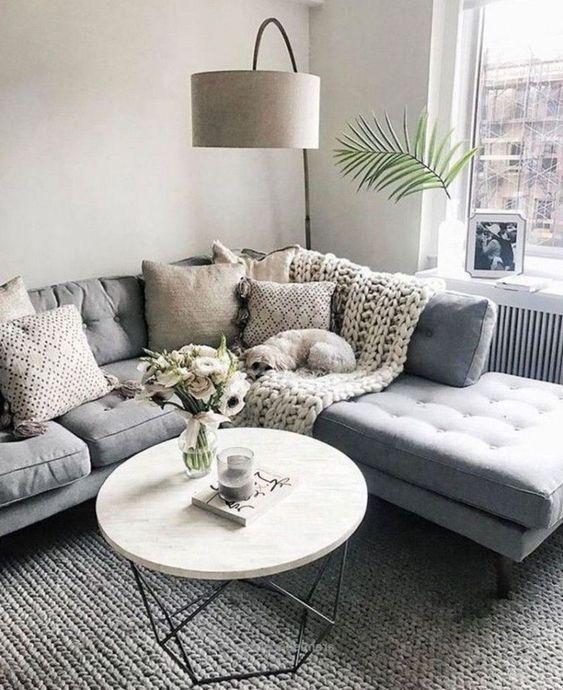 46 Comfy Scandinavian Living Room Decoration Ideas - SooPu